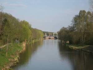 Oder-Spree-Kanal und Wernsdorfer Schleuse (2010) Oder-Spree-Kanal, Berlin-Schmöckwitz, Seddinsee, Köpenicker Forst