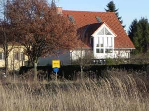 Am Rudower Waldrand, Ecke Großziethener Chaussee(2013) Am Rudower Waldrand, Berlin-Rudow, Mauerweg, Rudower Fließ, Stadtgrenze