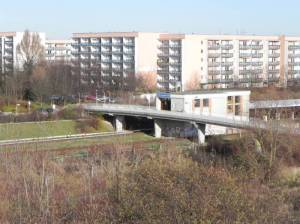 U-Bahnhof Louis-Lewin-Straße, Berlin-Hellersdorf, Hönower Weiherkette, Kurt-Julius-Goldstein-Park