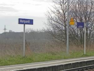 Bahnhof Marquardt (2014) Bahnhof Marquardt, Schloss Marquardt