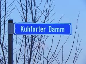 Kuhforter Damm (2016) Kuhforter Damm, Potsdam-Golm,