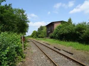 Bahnhof Blankenfelde (2017) Bahnhof Blankenfelde (außer Betrieb),
