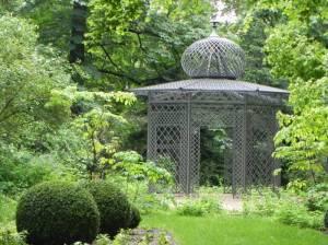 Gutspark Britz, Gartenpavillon (2014) Gutspark Britz, Berlin-Britz, Schloss Britz, La Laitière, Rüdiger von Ilgen, Schlossmuseum, Schlossrestaurant