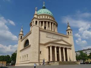 Nikolaikirche Potsdam (2016) Nikolaikirche, Potsdam, Alter Markt, Landtag, Museum Barberini, Tourist-Information