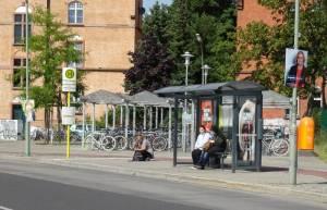Ballonfahrerweg (2016) Ballonfahrerweg, Berlin-Schöneberg, Bahnhof Südkreuz