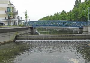 Tegel Greenwichpromenade Brücke 3