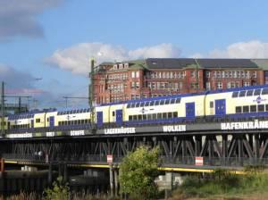 Oberhafenbrücke, Hamburg, Oberhafenkantine, Lohsepark