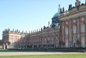 Neues Palais Neues Palais, Potsdam, Park Sanssouci, Die Fanfaronade Friedrich des Großen