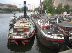 Historischer Hafen (2009) Historischer Hafen, Berlin-Mitte, Spreekanal, Märkisches Museum, Fischerinsel, Mühlendammschleuse