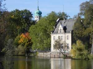 Jagdschloss Glienicke (2010) Jagdschloss Glienicke, Jagdschlosspark, Schlosspark Glienicke, Glienicker Brücke, Havel