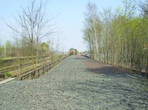 Transportrampe (2007) Gleis 17, Transportrampe