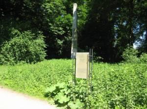 Obelisk (2008) Obelisk, Berlin-Charlottenburg, Schlosspark Charlottenburg, Mausoleum, Fontäne, Barockgarten, Karpfenteich, Obelisk