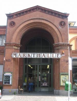 Haupteingang (2009) Arminius-Markthalle, Moabit