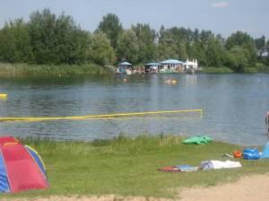 Bernsteinsee (2008) Bernsteinsee, Strandbad mit Wakeboardanlage in Velten