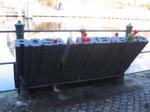 Rosa Luxemburg, Großer Tiergarten