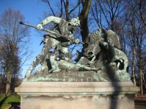 Eberjagd, Großer Tiergarten