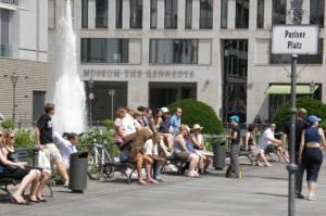 Das Museum am früheren Standort am Pariser Platz (2008) Museum The Kennedys, Berlin-Mitte,