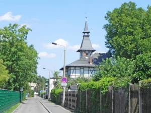Aachener Straße, Kleingärtnermuseum (2015) Aachener Straße, Leipzig, Deutsches Kleingärtnermuseum, Schaugärten, Kleingartenanlage Dr. Schreber