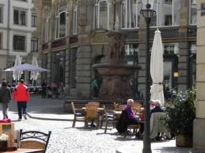 Barfußgäßchen (2015) Barfußgäßchen, Leipzig,