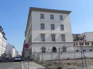 Goldschmidtstraße, Mendelssohn-Haus  (2015) Goldschmidtstraße, Leipzig, Mendelssohnhaus