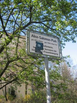 Alice-Salomon-Park (2008) Alice-Salomon-Park, Berlin-Schöneberg,