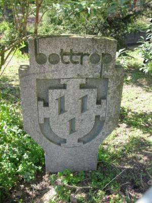 Gedenkstein Partnerstadt Bottrop,