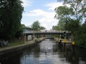 Unterschleuse (2008) Unterschleuse, Berlin-Tiergarten, Landwehrkanal, Schleusenkrug, Großer Tiergarten