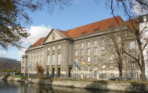 Bundesministerim für Verteidigung (2010) Bundesministerium für Verteidigung, Berlin-Tiergarten, Landwehrkanal
