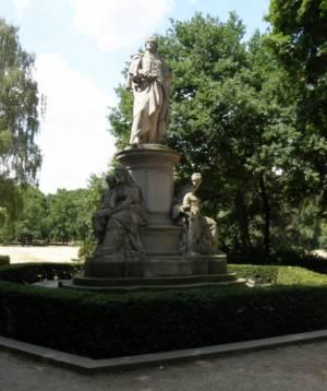 Goethedenkmal, Großer Tiergarten
