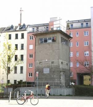 Gedenkstätte Günter Litfin, Wachturm (2009) Gedenkstätte Günter Litfin, Berlin-Mitte, Berlin-Spandauer Schiffahrtskanal