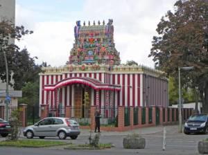 Hinduistischer Tempel (2014) Hinduistischer Tempel, Berlin-Britz, Murugan Tempel