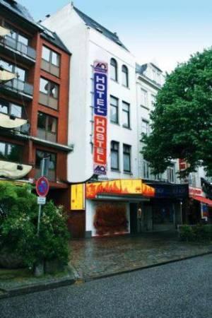 A&O Hamburg Reeperbahn, Reeperbahn 154, 20359 Hamburg