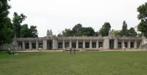 Carl-Zuckmayer-Brücke, Rudolph-Wilde-Park, Rathaus Schöneberg