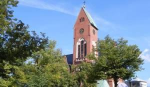 (2010) Christophoruskirche, Evangelische Landeskirche in Friedrichshagen