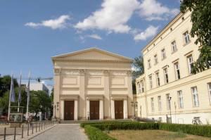 Maxim-Gorki-Theater (2010) Maxim-Gorki-Theater, Berlin-Mitte, Unter den Linden, Museumsinsel, Humboldt-Universität, Deutsches Historisches Museum