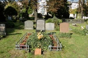 Ehrengrabstätte von Theodor Fontane Friedhof II der französisch-reformierten Gemeinde, Berlin Mitte