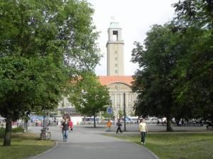 Münsingerpark, Berlin-Spandau, Rathaus Spandau, Altstadt Spandau, Spielplatz, Liegewiesen