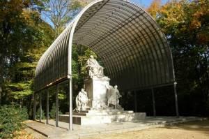 Richard Wagner, Berlin-Tiergarten, Großer Tiergarten