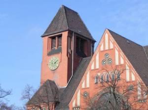 Nathanael-Kirche (2013) Nathanael-Kirche, Berlin-Schöneberg, Grazer Platz