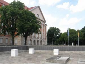 Siemens-Kriegerdenkmal (2008) Gefallenen-Mahnmal, Berlin-Siemensstadt, Siemens-Hauptverwaltung