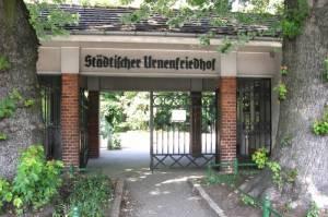 Eingang Städtischer Urnenfriedhof, Wedding