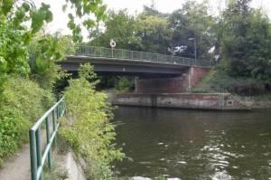 Nathanbrücke, Berlin-Wannsee, Teltowkanal, Düppeler Forst