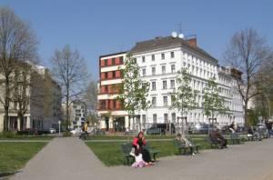 Oranienplatz Tiergartenring Etappe 2, Vom U-Bahnhof Kottbusser Tor zum U-Bahnhof Strausberger Platz