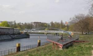 An der Kieler Brücke (2008) Berlin-Spandauer Schifffahrtskanal, Mitte, Wedding, Charlottenburg, Spandau