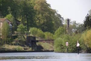 Enver-Pascha-Brücke (2009) Enver-Pascha-Brücke, Klein-Glienicke, Teltowkanal, Griebnitzsee