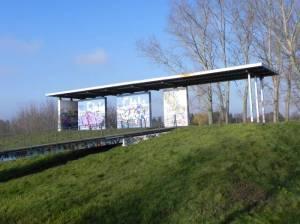 Stadtrandpark Neue Wiesen (2011) Barnimer Dörferweg Etappe 3, S-Bahnhof Karow  bis S-Bahn Ahrensfelde