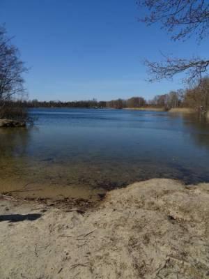 Neuer See in Falkensee (2018) Spandauer Weg Abstecher 3, Rundweg