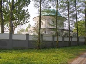 Villa Lemm, Aussichtspavillon Villa Lemm, Berlin-Gatow, Havel
