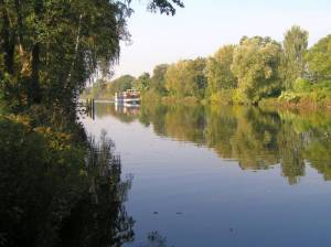 Hohenzollernkanal, Charlottenburg und Spandau