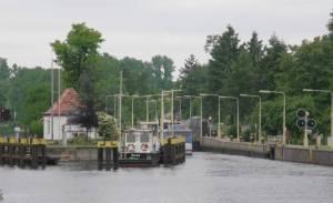 Schleuse Plötzensee, Charlottenburg, Plötzensee, Gedenkstätte Plötzensee, Volkspark Rehberge